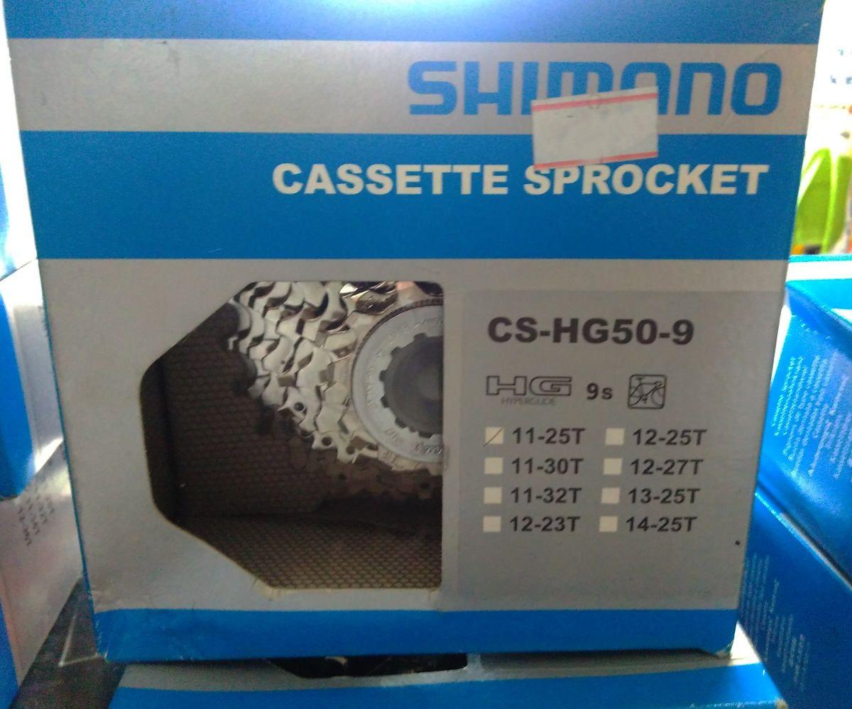 Cassete Speed Shimano Tiagra/Sora  Cs-Hg50-9 9v 11-25t