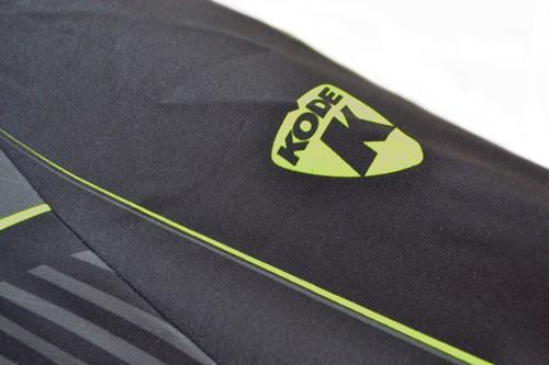 Colete Corta Vento Kode Wings Preto/Verde