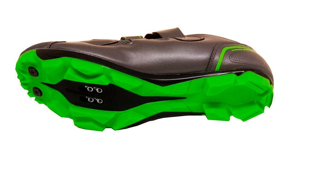 Sapatilha Absolute Wild MTB Cinza/Verde