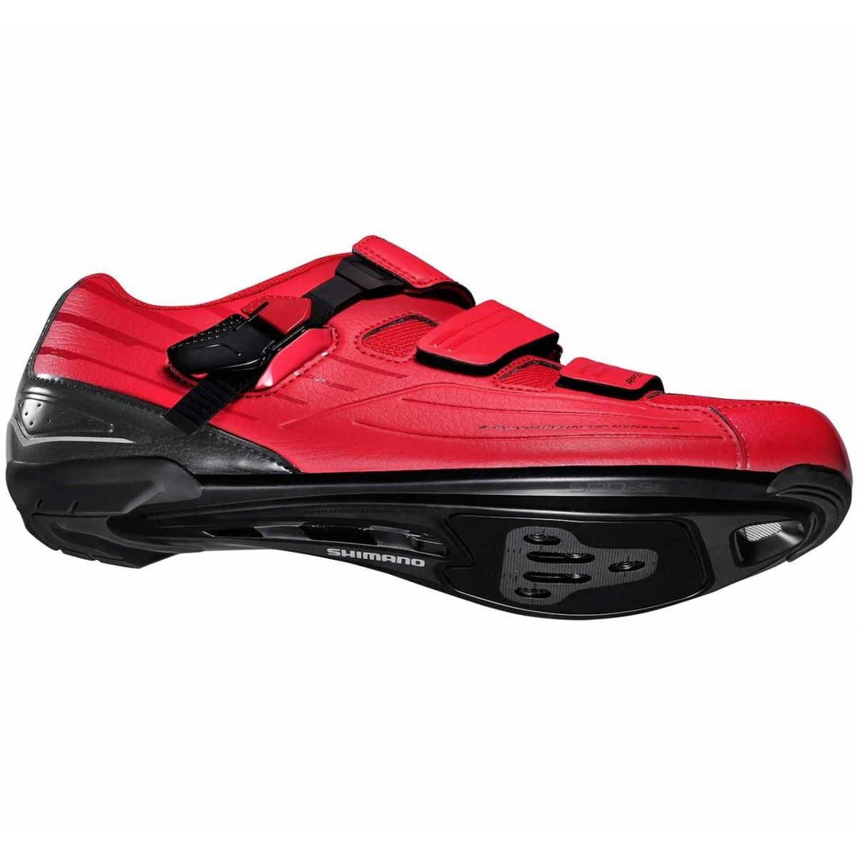 Sapatilha Ciclismo Shimano Speed RP3 Vermelha