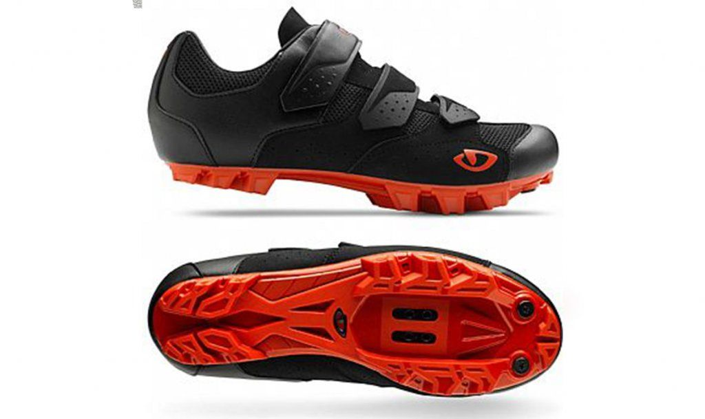 Sapatilha Giro Herraduro Black/Red