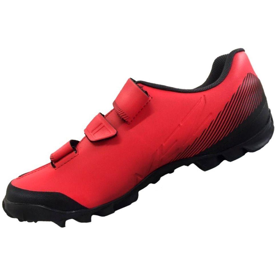 Sapatilha Shimano  MTB ME2  Vermelho