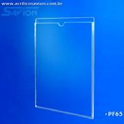 PF65-Porta Folheto parede (Envelope)  A4 vertical