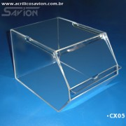 CX05-Baleiro com tampa de correr