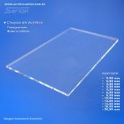 AC20-Chapa acrílica transparente 1000x2000x20,00 mm