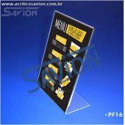 PF16-Porta Folheto de mesa 22x30 cm A4