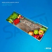 PF56-Porta Etiqueta de Parede 20x5 Cm