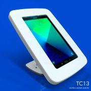 TC13-Suporte Em Acrilico Mesa e Parede Para Tablet Samsung Tab A Sm P585 10,1