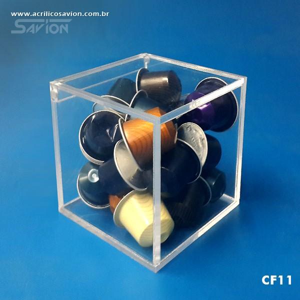 CF11 Caixa em Acrílico 10x10x10 Cm