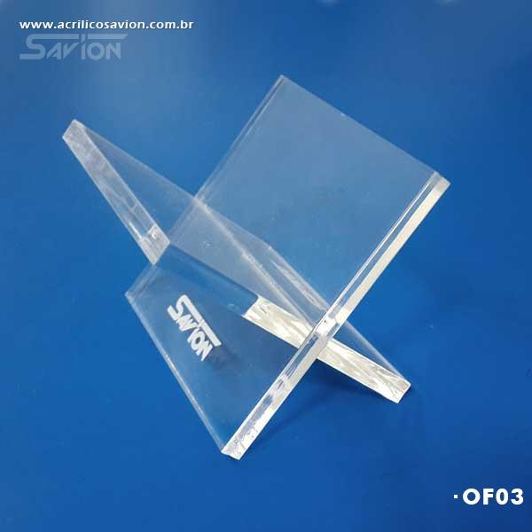OF03-Porta Cartões de Visitas 9x9x9 cm