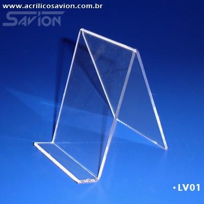 LV01-Display de mesa para Livros 8x12
