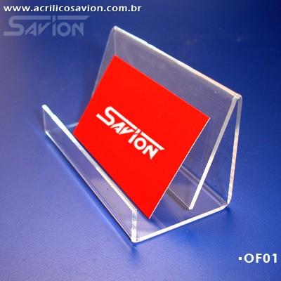 OF01-Porta Cartões de Visitas 10x5x5 cm