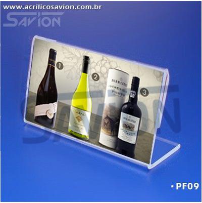 PF09-Porta Folheto de mesa 10x5 cm