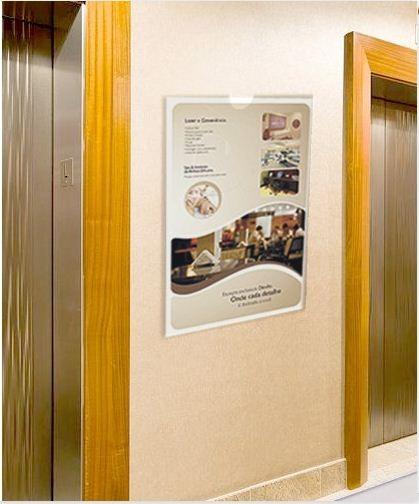 PF71-Porta Folheto de parede 60x84 cm A1 Vertical - Envelope