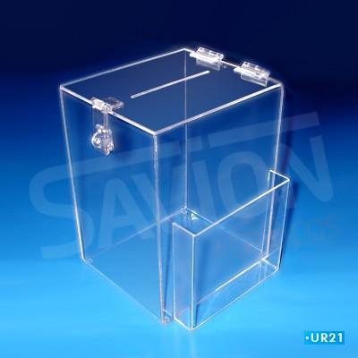 UR21-Urna de sugestão 20x17x26 cm 1000 cupons