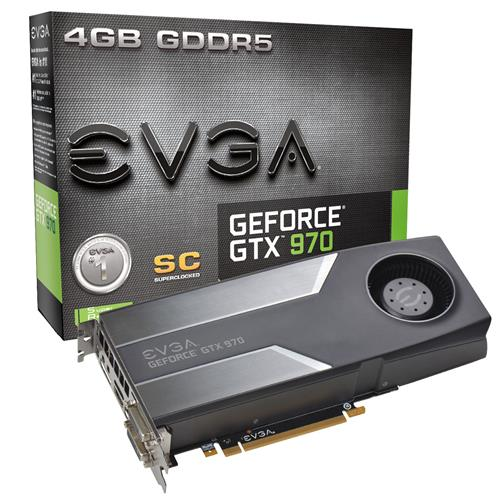 Placa de Vídeo Evga Gtx 970 4gb Ddr5 04g-p4-1972-kt
