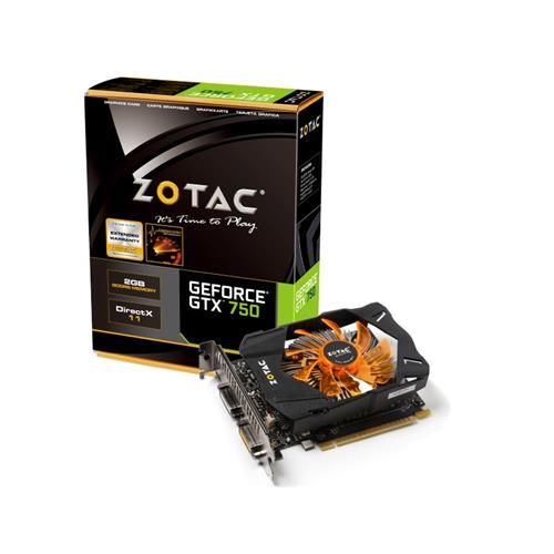 Placa de Vídeo Zotac Gtx 750 2gb Ddr5 Zt-70704-10m