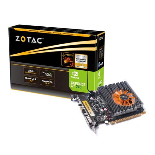 Placa de Vídeo Zotac Gt 740 2gb Ddr3 Zt-71004-10l