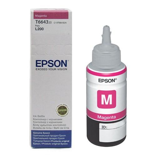 Refil de Tinta EPSON L110/L200/L355/L555 T664320 Magenta