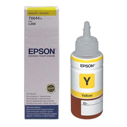 Refil de Tinta EPSON L110/L200/L355/L555 T664420 Amarelo