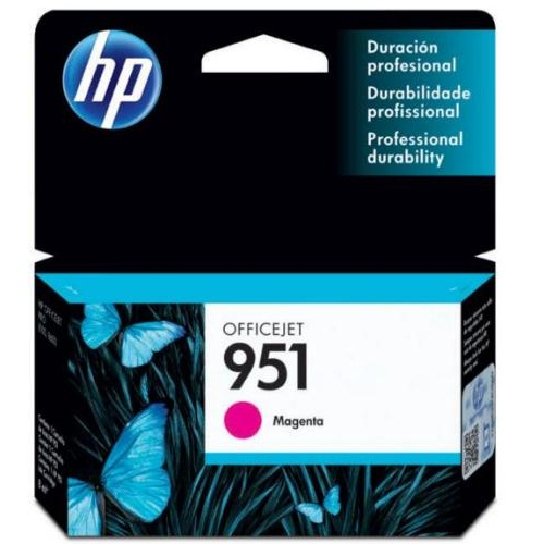 Cartucho HP 951 CN051AL Officejet Magenta