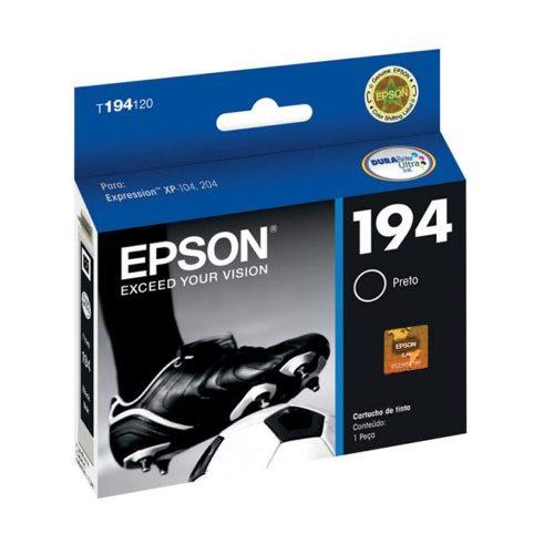 Cartucho EPSON 194 Preto T194120 XP-104/204/214