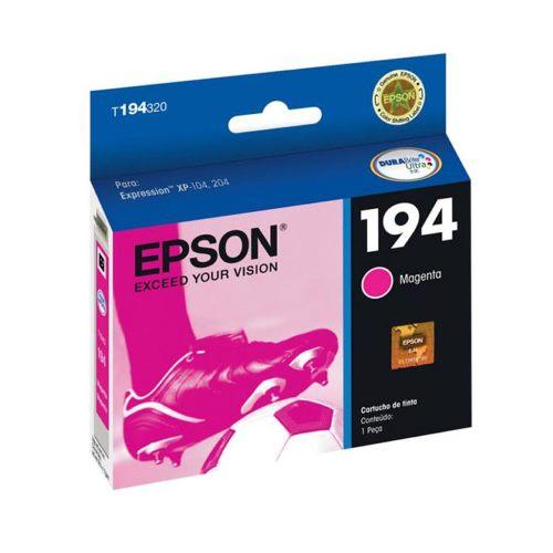 Cartucho EPSON 194 Magenta T194320 XP-104/204/214