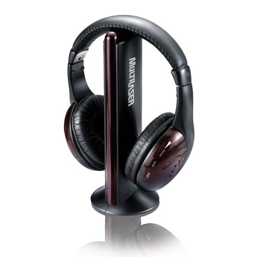 Fone de Ouvido 5 em 1 sem Fio com FM P2 PH036 INT