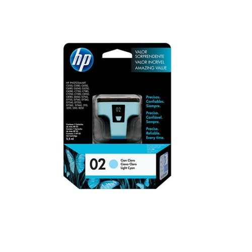 Cartucho HP 02 C8774WL C7180 Ciano LIGHT