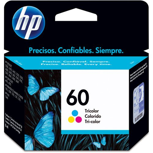 Cartucho HP 60 Tricolor CC643WB HP F4240/F4280/D2530