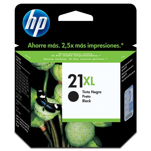Cartucho HP 21XL C9351CB Preto