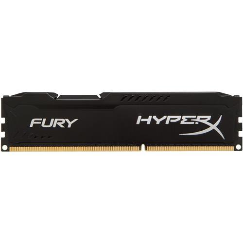 Memoria 4GB DDR3 1600 Kingston HYPER X FURY BLACK Desktop HX316C10FB/4