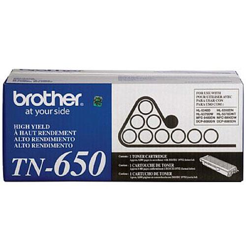 Toner Brother TN650 HL5350DN HL5340D DCP8085DN DCP8080DN DCP8070D