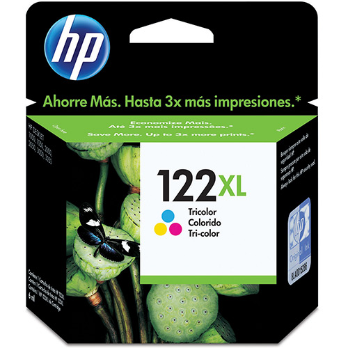 Cartucho HP 122XL Tricolor CH564HB HP 1000/2000/2050/3050