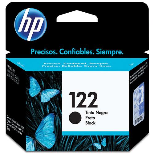 Cartucho HP 122 Preto CH561HB HP 1000/2000/2050/3050