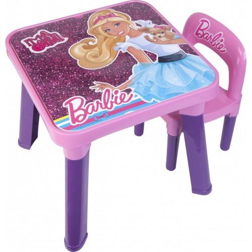 Mesa e Cadeira Barbie FUN BB6000 6926-9