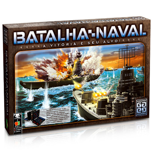 Jogo Batalha Naval GROW 01853
