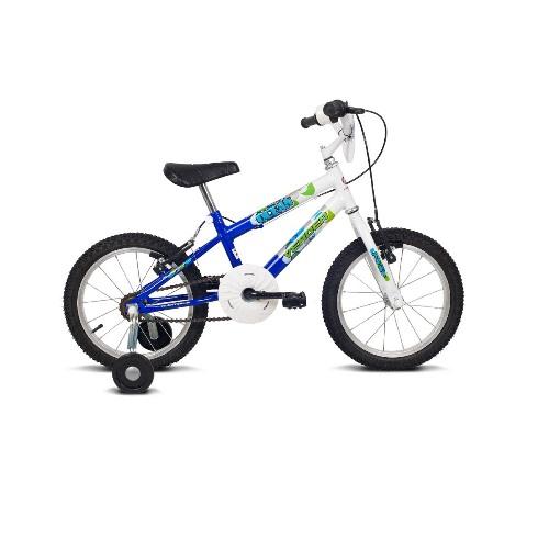Bicicleta Ocean Branco e AZUL ARO 16 Verden 10331