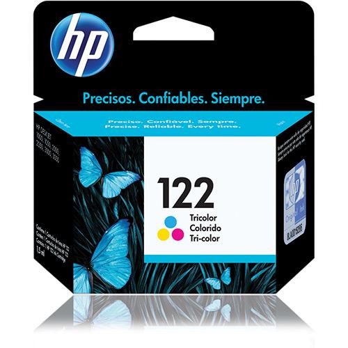 Cartucho HP 122 Tricolor CH562HB HP 1000/2000/2050/3050
