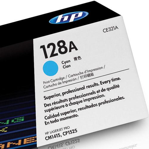 Toner HP 128A CE321A Ciano CM1415