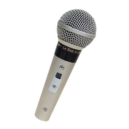 Microfone com Fio Profissional SM58 P4 Leson