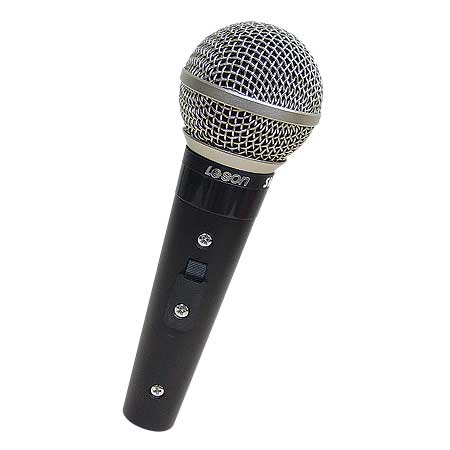 Microfone com Fio Profissional SM58 PLUS Leson