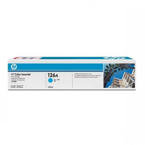 Toner HP 126AB CE311A Ciano