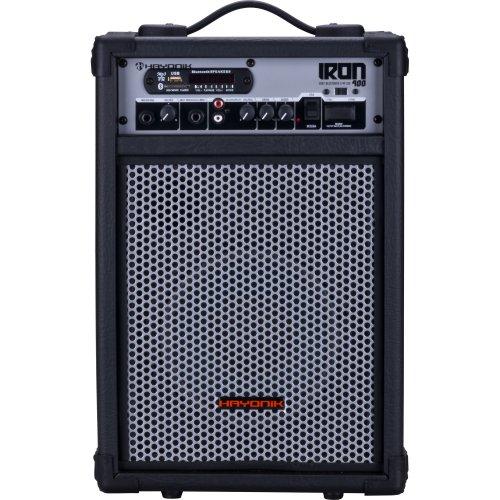 Caixa Multiuso IRON 400 60W RMS Bluetooth USB/SD e Radio FM Hayonik