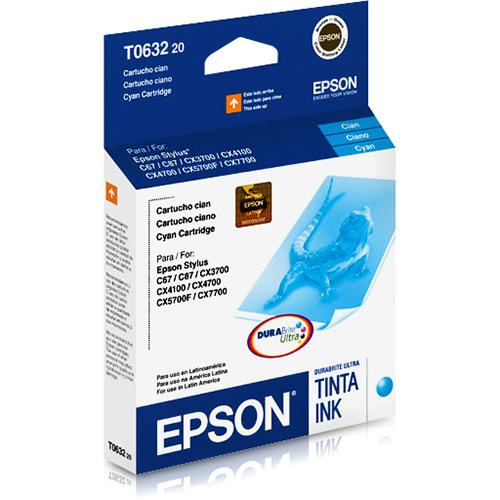 Cartucho EPSON T063220-AL Cyano C67/C87 - Saldao