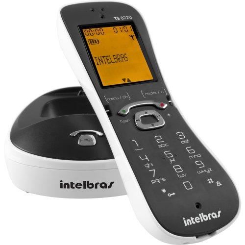 Telefone sem Fio Digital com Identificador de Chamadas Viva VOZ TS8220BRANCO Intelbras