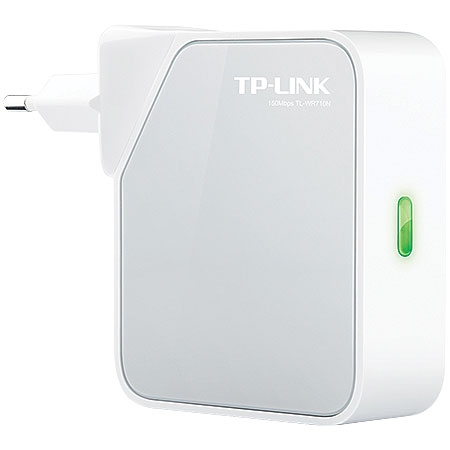 Roteador Portatil Wireless N 150MBPS AP/ADAPTADOR de TV/REPETIDOR TP-LINK TL-WR710N