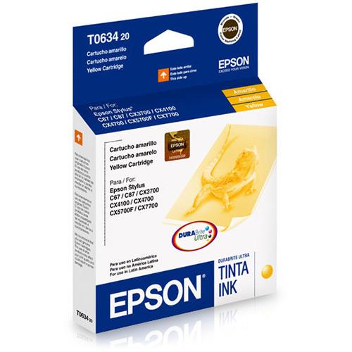 Cartucho EPSON T063420 Amarelo C67/C87