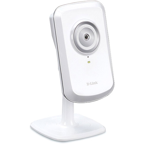 Camera IP de MONITORAMENTO/WEBCAM Wireless 4X Zoom Digital Branca - D-LINK DCS-930L
