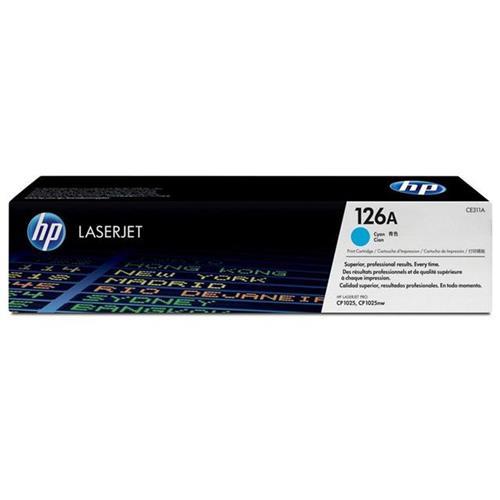 Toner HP CE311AB Laser Ciano (CP1025)